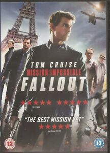 Mission: Impossible Fallout - Tom Cruise Sean Harris (DVD, 2018)