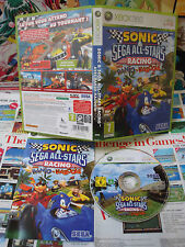 Xbox 360:Sonic & Sega All-Stars Racing [TOP & BANJO KAZOOIE] COMPLET - Fr