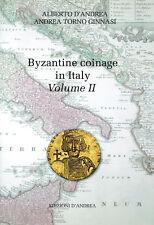 HN Novità D'Andrea Torno Ginnasi   Byzantine coinage in Italy Vol. II (610-711)