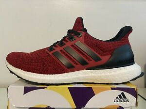 Adidas Ultra BOOST 4.0 Power Red Core Black Cloud White EE3703 Men's US 8 Shoes
