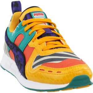 Puma Rs-100 Animal Lace Up   Kids Boys  Sneakers Shoes Casual   - Multi
