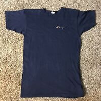 Vintage Champion Blue Made in USA T-Shirt Men's Size Large