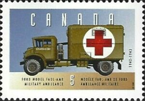 Canada    # 1527a    MILITARY  AMBULANCE    Brand New 1994 Original Pristine Gum