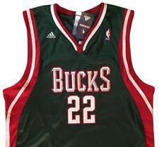 adidas MILWAUKEE BUCKS NBA MICHAEL REDD #22 Basketball Jersey Shirt MENS XL NWT