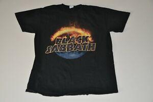 Black Sabbath The End 2016 Tour Men's T-shirt Size medium Heavy Cotton
