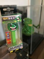 2019 Funko Pop Pez Ghostbusters Slimer - SIGNED BY ROBIN SHELBY (SLIMER in GB2)