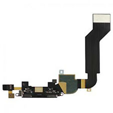 iPHONE 4S LADEBUCHSE DOCK CONNECTOR CHARGER FLEX KABEL MIKROFON SCHWARZ BLACK