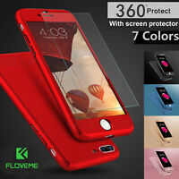 Case for Apple iPhone 6 7 8 5s XR Cover 360 Luxury Ultra Thin Shockproof Hybrid