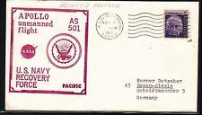 # Space Raumfahrt Apollo 4 Bergung USS Bennington Navy Cachet, KSC 09.11.67