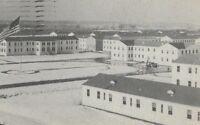 CC-474 IN, Camp Atterbury, Wakeman General Convalescent Hospital Chrome Postcard
