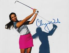 Cheyenne Woods signed LPGA Golf 8x10 photo autographed Proof 3