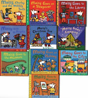 NEW Maisy First Experience 10 Books Collection Library Book Set Kids Fun Gift!