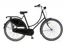 Popal Omafahrrad basic 28 Zoll Hollandrad Damen Fahrrad Rücktrittbremse Schwarz