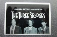 THREE STOOGES  THEATER CARDS 2017 METAL TOPPER CARD NO.9 OPENING CREDITS 57-59