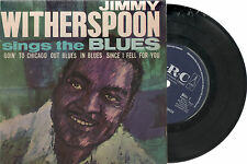 """JIMMY WITHERSPOON - SINGS THE BLUES EP - UK 7"""" PIC/SLV VINYL - ARC LABEL"""
