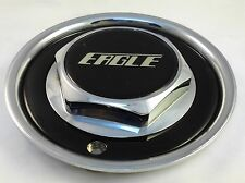 Eagle Alloys Wheels Chrome/Black Custom Wheel Center Cap # 105