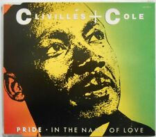 CLIVILLES & COLE PRIDE IN THE NAME OF LOVE / A DEEPER LOVE 4 TRACK CD SINGLE