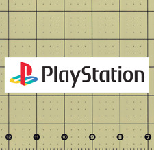 "CUSTOM MADE COLLECTIBLE PS1 PLAYSTATION 1 LOGO MAGNET (1¼""x5¼"")"