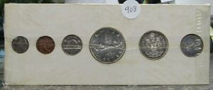 1960 Canada Silver Proof Like Coin Set