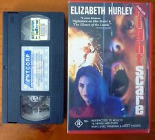 NIGHTSCARE aka Beyond Bedlam Rare OOP Horror Video PAL VHS Elizabeth Hurley