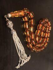 antique Bakelite amber Misbaha Tasbih