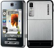4 X Samsung SGH F480 - Silver 3G Cellular Phone UNLOCKED - LOT of 4 Phones