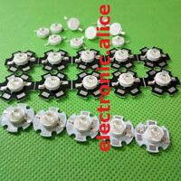 NEW 5-50 pcs 1W-3W High Power 7Type UV ultraviolet 365-405nm LED Lamp Light