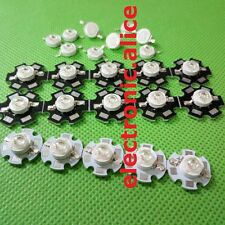 NEW 5-50 pcs 1W-3W High Power 7Type UV ultraviolet 365-405nm LED Lamp Light