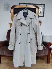 Aquascutum Corby Double Breasted Mens Trench Coat - Size 40