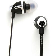 Klipsch IMAGE S4 II In-Ear Enhanced Bass Noise-Isolating Headphone, Black