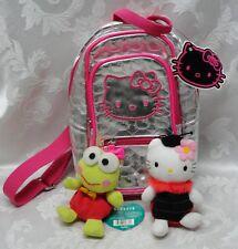 Keroppi Sanrio Hello Kitty TY Backpack Hamburg GERMANY Smiles TAGS Plush Stuffed