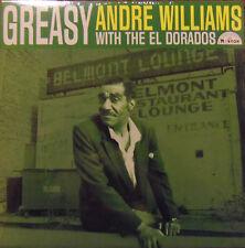 Andre Williams with the El Dorados - Greasy  LP Norton
