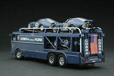 Exoto 1965 Shelby American Cobra Transporter / Le Mans / 1:43 / #EXO00017B