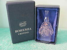 VTG Bohemia Crystal Bell, Czech Republic, Box, Nice Ring Tone Dinner Bell