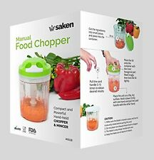 Saken Manual Food pull Chopper. Perfect To Chop  Vegetables