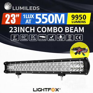 23inch Philips LED Light Bar Spot Flood Work Driving Lamp Offroad 4x4 Truck SUV