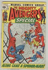 Avengers Special #2 January 1972 G- Spider-Man crossover
