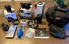 Sony Alpha A6000 24.3MP Digital Camera - Black Kit with 16-50mm & 55-210mm Zoom