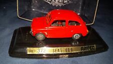 PILEN 1 43 SEAT FIAT 600 rossa 1 43 mint in the box