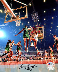 Bill Russell Autographed Signed 8x10 Photo Boston Celtics Beckett X12798
