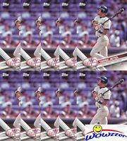 (50) 2017 Topps #NYY-1 Derek Jeter Lot MINT Yankees Hall of Famer