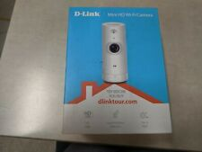 D-Link HD Mini Indoor WiFi Security Camera, Cloud Recording, Motion Detection &