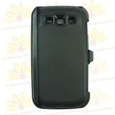 For Samsung Galaxy S3 case cover(Belt Clip Holster Fits Otterbox Defender) Bk