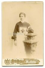 Russian Imperial Russo - Japanese War (1904-1905) Red Cross Nurse Photo Kharbin