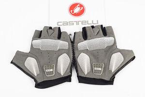 Castelli Competizione Half Finger Gloves Size L Racing Road MTB Bike NEW