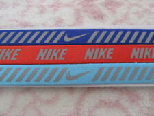Nike Printed Reflective Headbands Assorted 3 Pack Vivid Sky/Paramount Blue - New