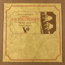 1967 LP Sergei Rachmaninoff as Pianist Veritas VM102 Mono SS