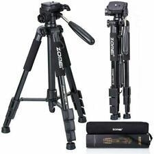 Black Professional ZOMEI Aluminium Portable Travel Camera Tripod For Camcorder
