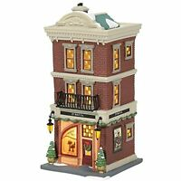 Department 56 Christmas in The City JT Hat Co. Lit House - SHIPS GLOBALLY!