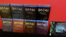 HARRY POTTER 1 2 3 4 5 6 7 COMPLETE COLLECTION Bluray Steelbook + 3D Lenticulars
